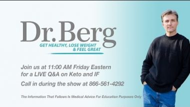 Join Dr. Berg and Karen Berg for a Q&A on Keto