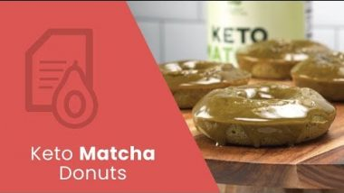 Keto-Friendly Matcha Donuts | Dr. Josh Axe