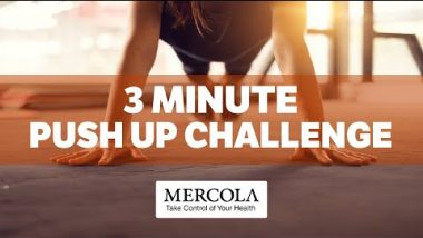 3 Minute Push Up Challenge