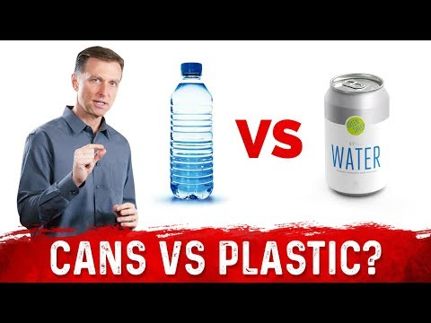 Canned Water vs Plastic Water: What is Better?