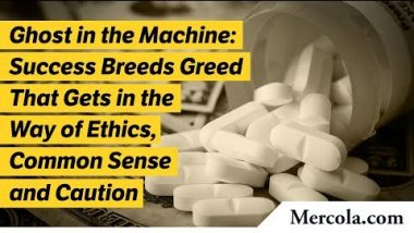 Ghost in the Machine: Success Breeds Greed That Gets in the Way of Ethics, Common Sense and Caution